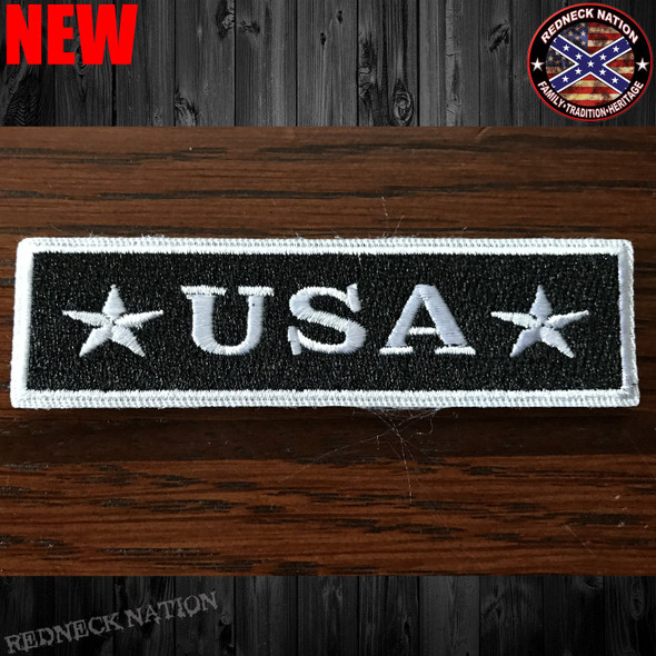 USA Velcro Back Hat Patch VHP-15