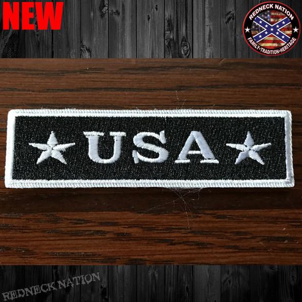 USA Velcro Back Hat Patch VHP-15
