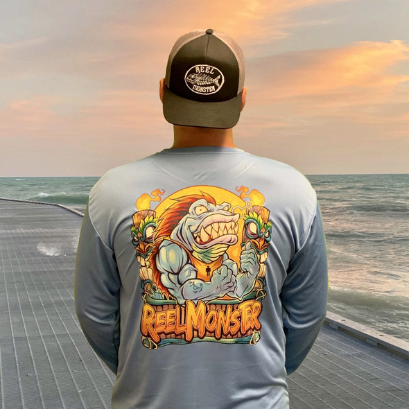 Reel Monster© Lipper Ripper Cool Performance L/S RMBDF-3165