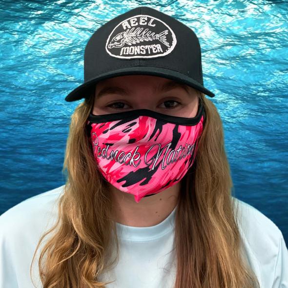 Redneck Nation© Pink Camo Rona mask