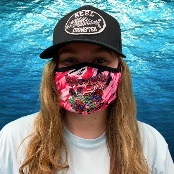 Southern Girl Pink Camo Rona mask