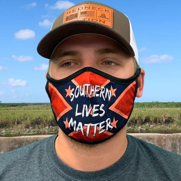 Southern Lives Matter Rona mask