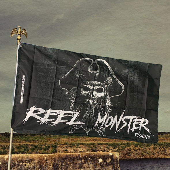 Reel Monster Capt. Jack Flag