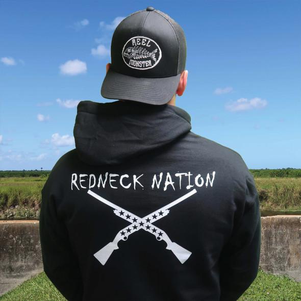 Redneck Nation Crossed Shot Hoodie RNH-8