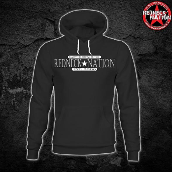 Redneck Nation Est.Crest Hoodie RNH-10