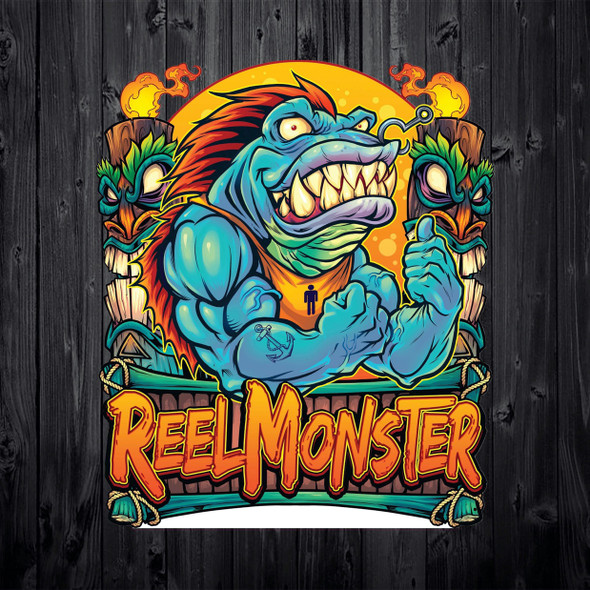 Reel Monster Angry Tuna