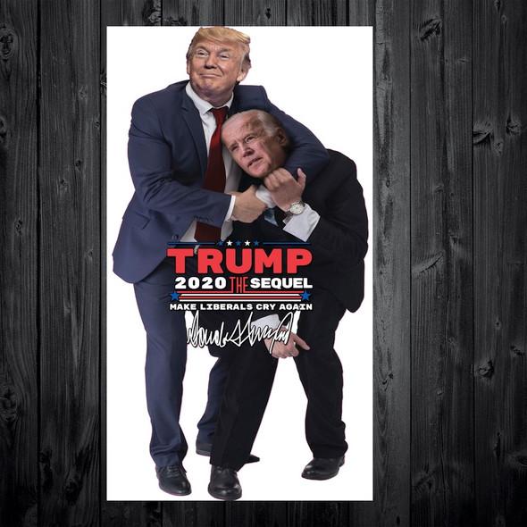 Trump Noogie Sticker