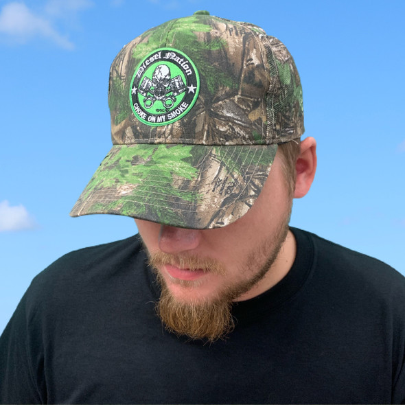Diesel Nation Reeltree Xtra Green Hat