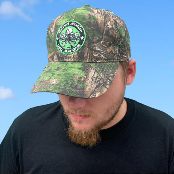 Diesel Nation Reeltree Xtra Green Hat