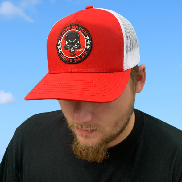 Dipper Nation Red/White Hat DNH-1
