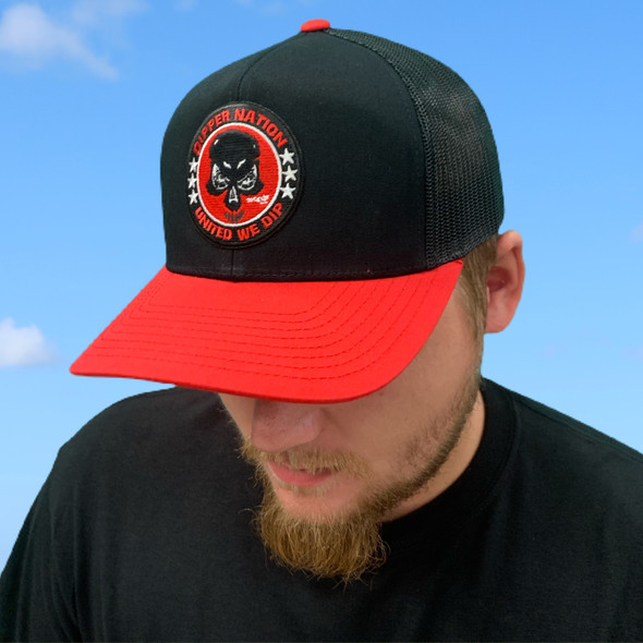 Dipper Nation Red/Black Hat DNH-1