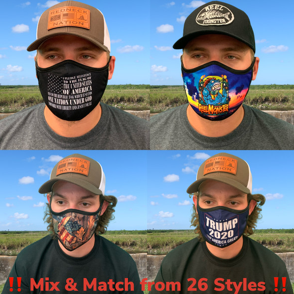 **Build your own** 3-Pack Rona Masks