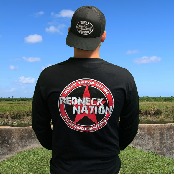 Redneck Nation© L/S Dont Tread Star