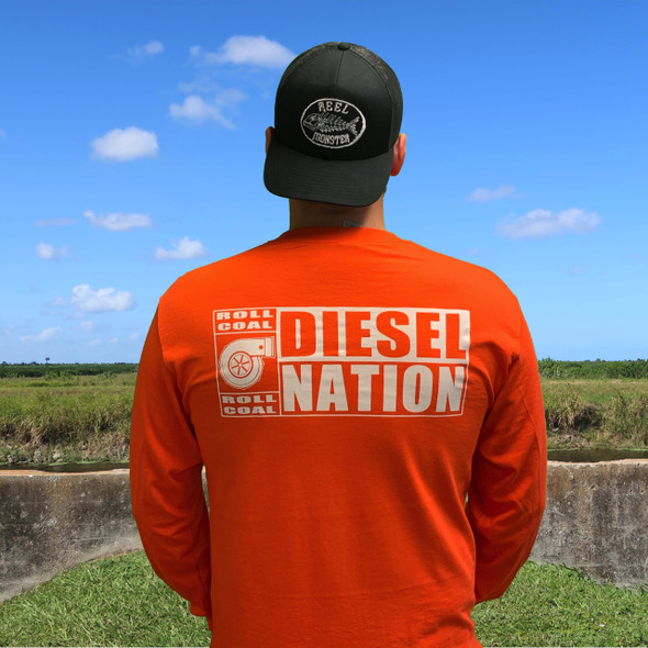 Diesel Nation Roal Coal Long Sleeve