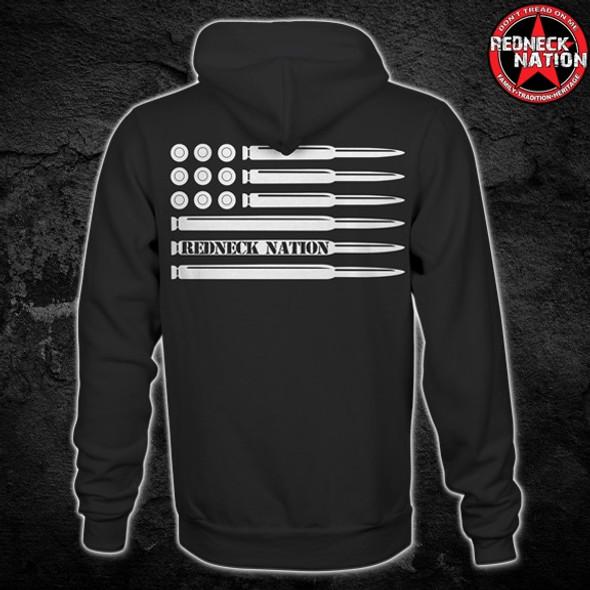 Redneck Nation© Bullet Flag RNH-36