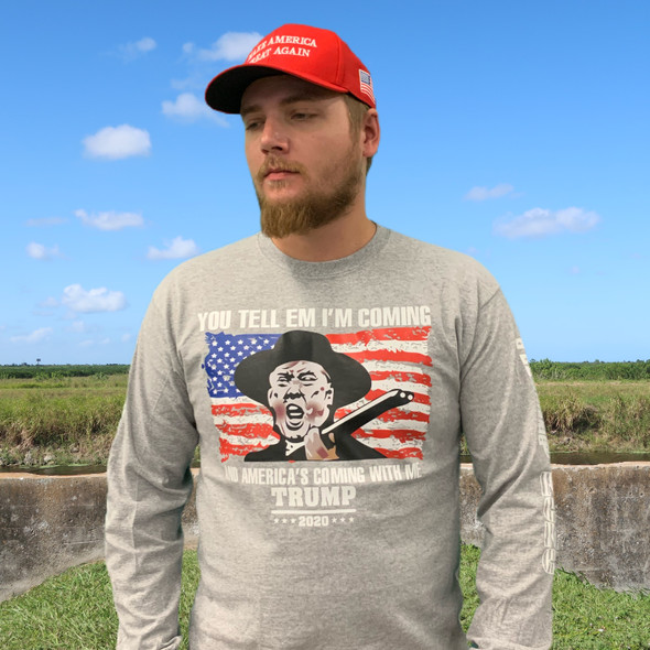 Trump Tombstone Long Sleeve