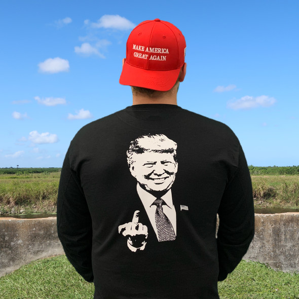 Trump #1 Long Sleeve