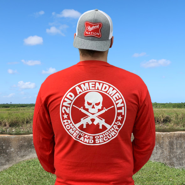 2nd Amendment Round Long Sleeve