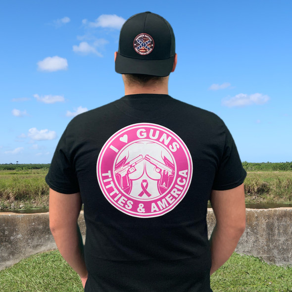 Breast Cancer Pink Round