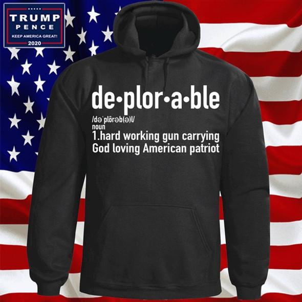 Deplorable Definition Hoodie