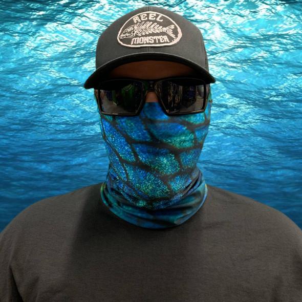 Blue Scale Face Masks FS-27