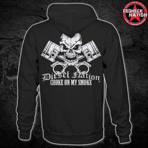 Diesel Nation Skull Hoodie DNH-1