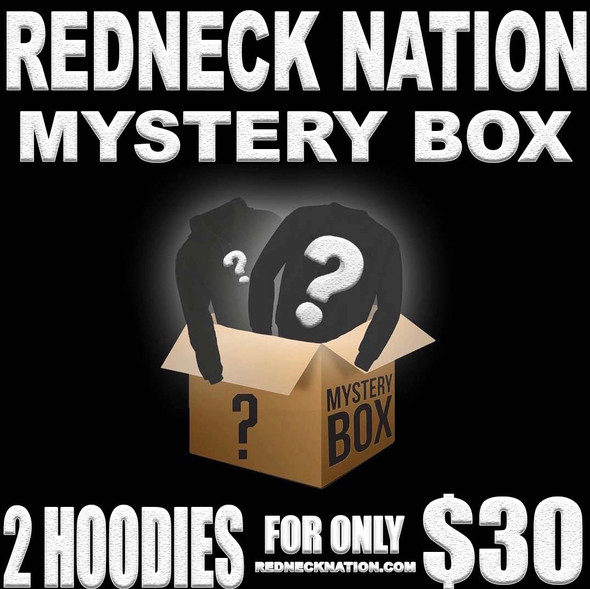 2 for $30 **Mystery Box** Redneck Nation Hoodies