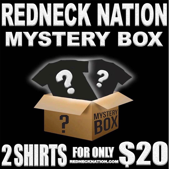 2 for $20 **Mystery Box** Redneck Nation T-Shirts