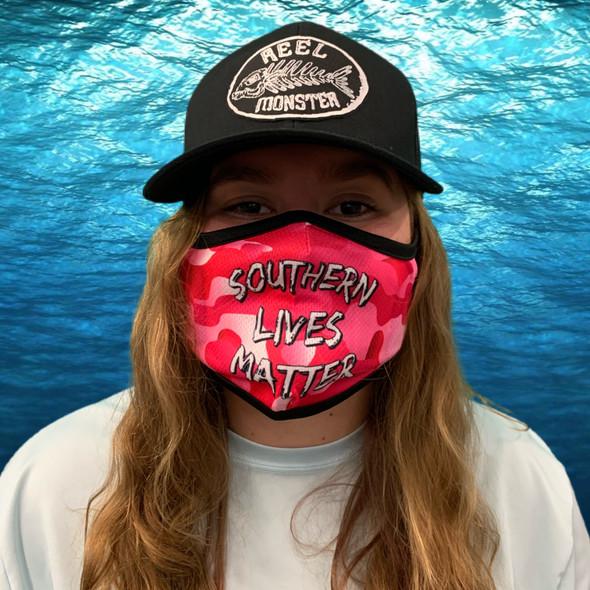 Pink Southern Lives Matter Rona Mask