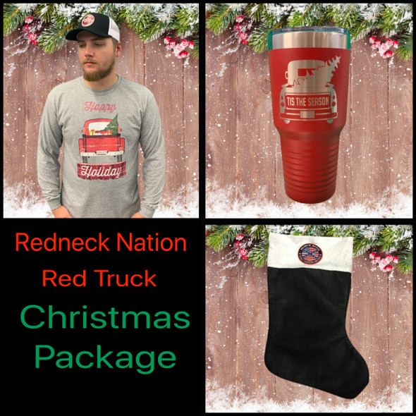 **Redneck Nation Red Truck** Christmas Value Package