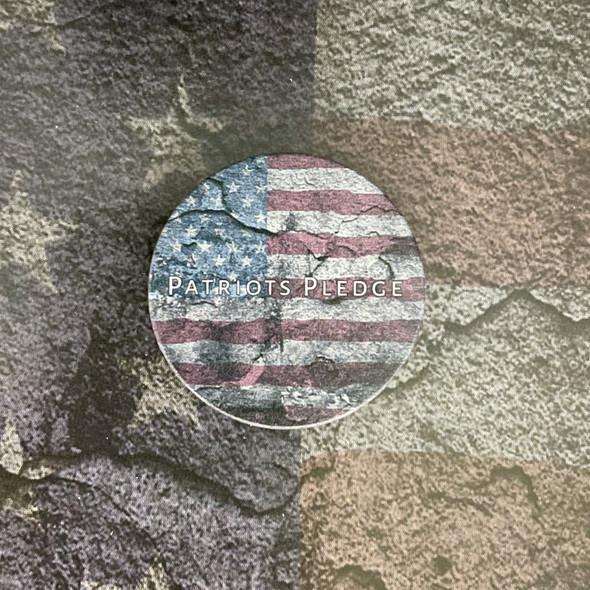 Patriots Pledge American Flag Phone Grip