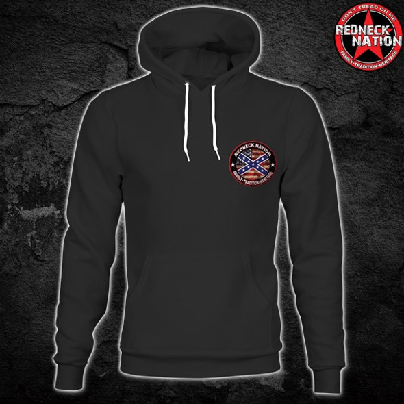 Redneck Nation© Redneck As F Hoodie  RNH-30