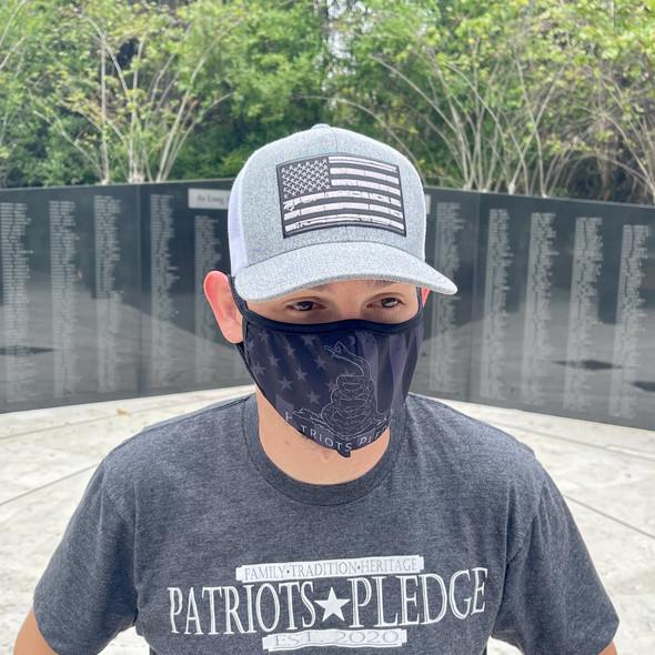 Patriots Pledge Don't Tread Face Masks
