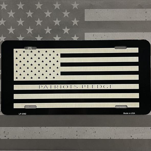 Patriots Pledge License Plate