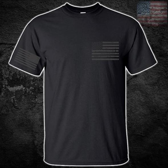 Patriots Pledge© American Flag T-Shirt PPCL
