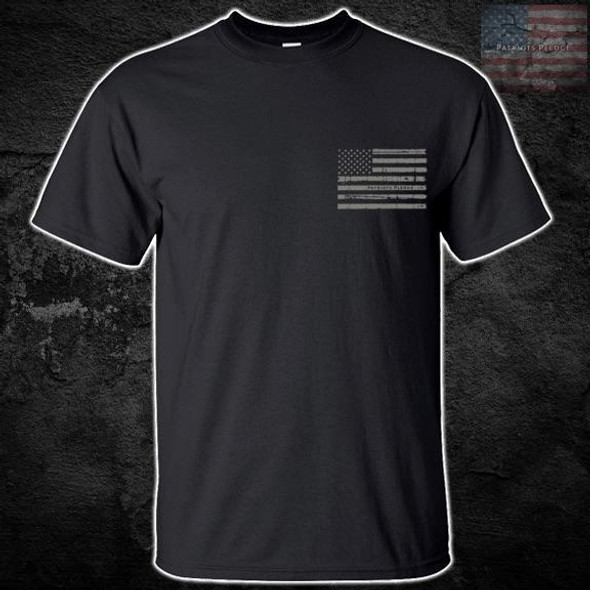 Patriots Pledge© American Flag T-Shirt PPPL