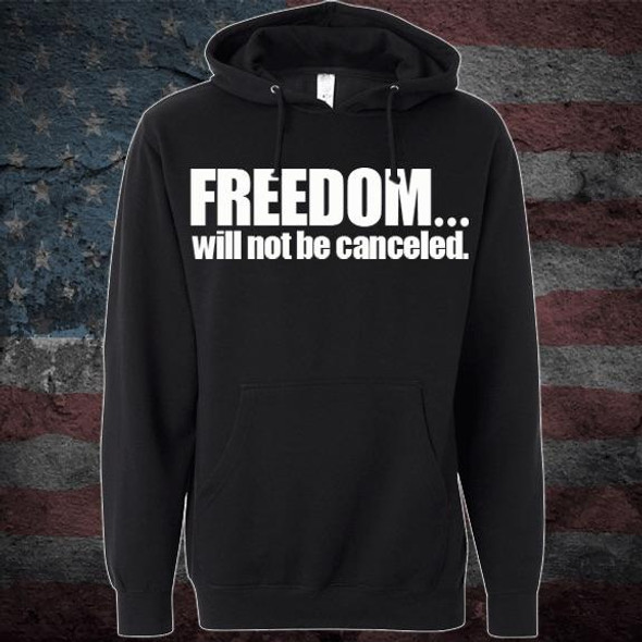 Patriots Pledge© Freedom will not be canceled Hoodie PPWL