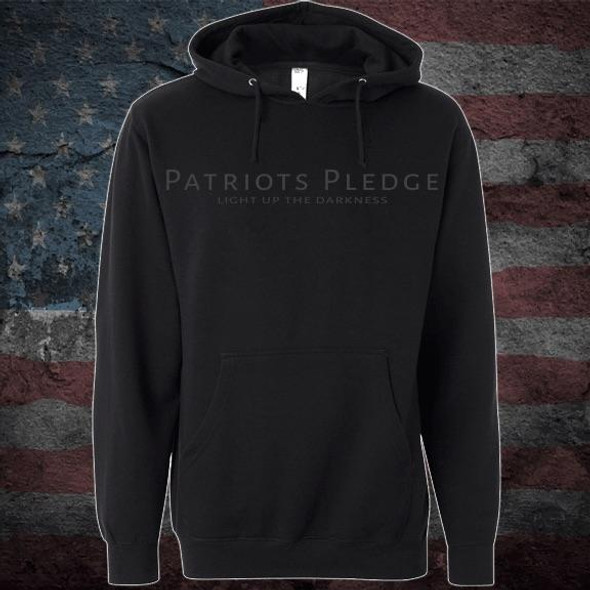 Patriots Pledge© Light up the Darkness Hoodie PPCL