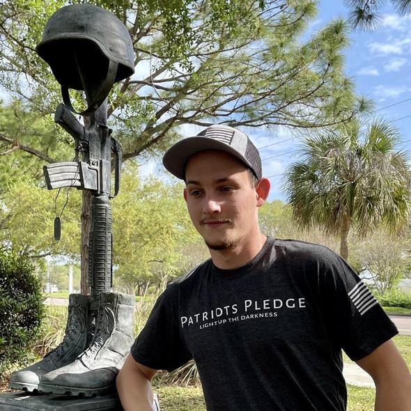 Patriots Pledge© Light up the Darkness T-Shirt PPWL