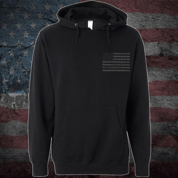 Patriots Pledge© Live free Eagle Hoodie PPCL