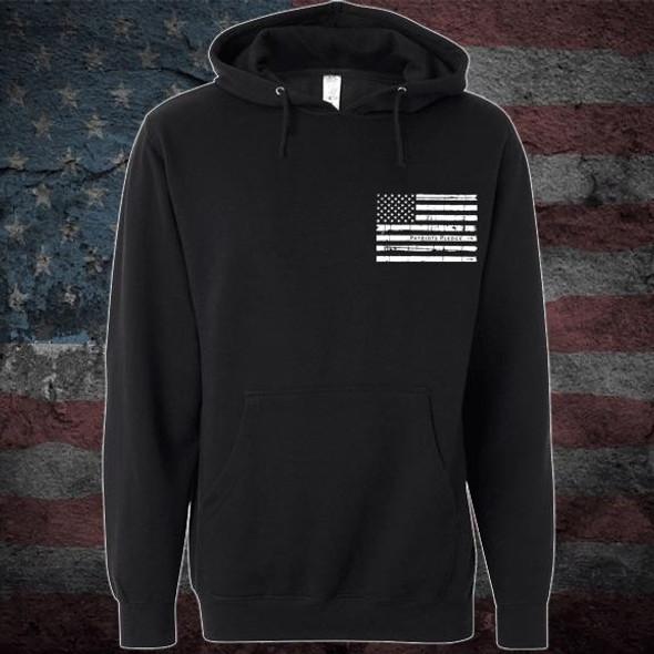Patriots Pledge© Live free Eagle Hoodie PPWL