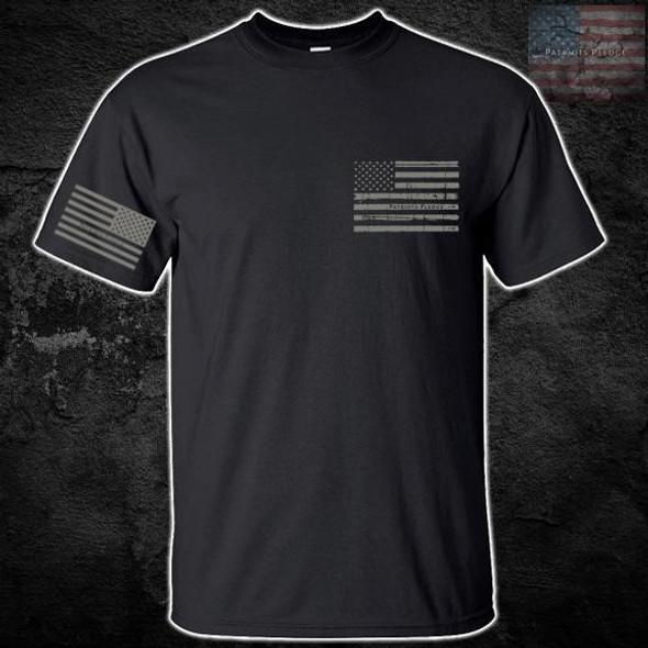 Patriots Pledge© Live Free Putty Eagle T-Shirt