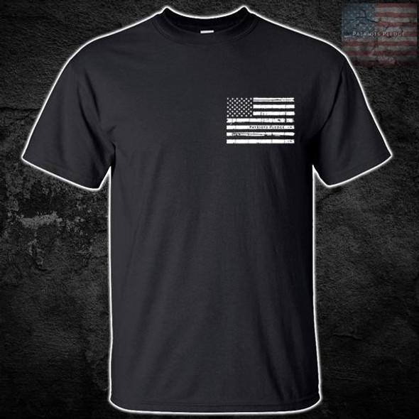 Patriots Pledge© Live Free white Eagle T-Shirt