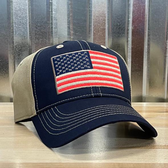 Redneck Nation© American Flag Hat