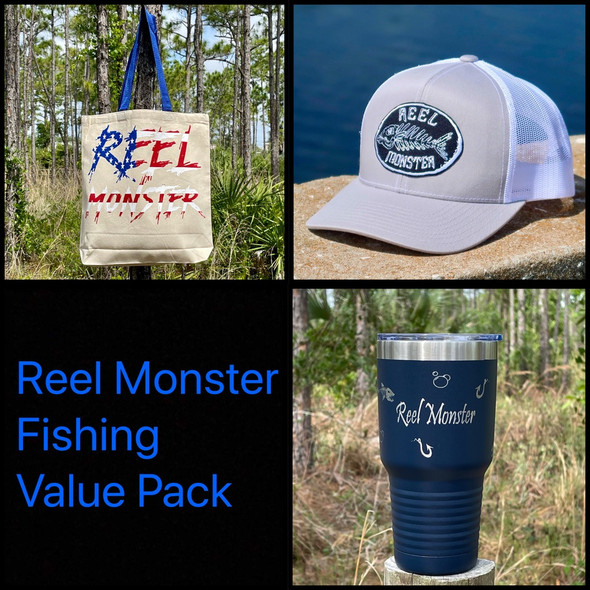**Reel Monster© Fishing Tote Value Pack**