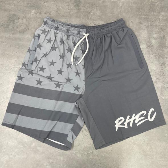 RHEC Stealth American Flag Board Shorts