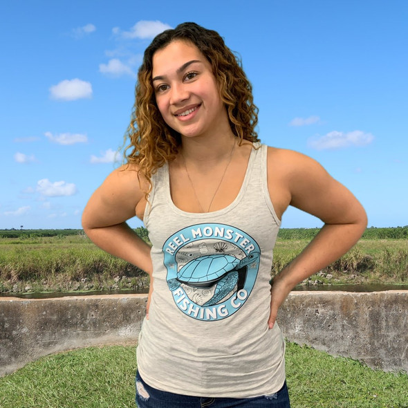 Turtle Reel Monster Girls Tank RMGT
