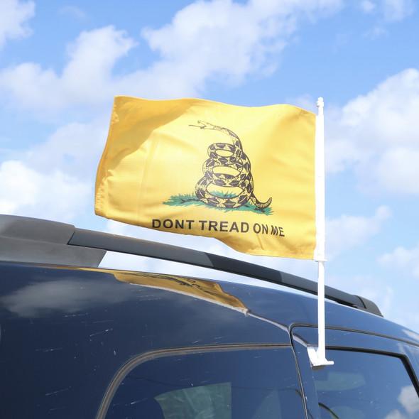 Dont Tread Car Flag