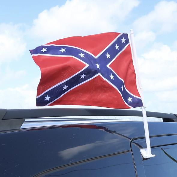 Confederate Car Flag
