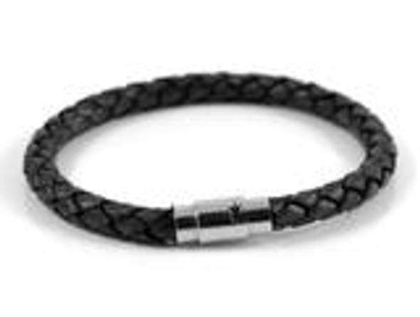 Genuine Leather Braided Bracelet  MMB-2